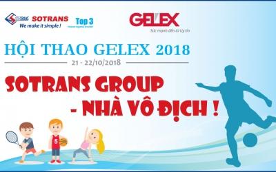 Lịch thi đấu Hội thao GELEX 2018.