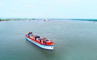 SOWATCO hạ thủy thành công tàu SOWATCO DISCOVER 200 teus – 3.600 tấn.