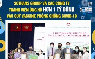 Sotrans Group Và Các Công Ty Thành Viên Ủng Hộ Hơn 1 Tỷ Đồng Vào Quỹ Vaccine Phòng Chống Covid-19